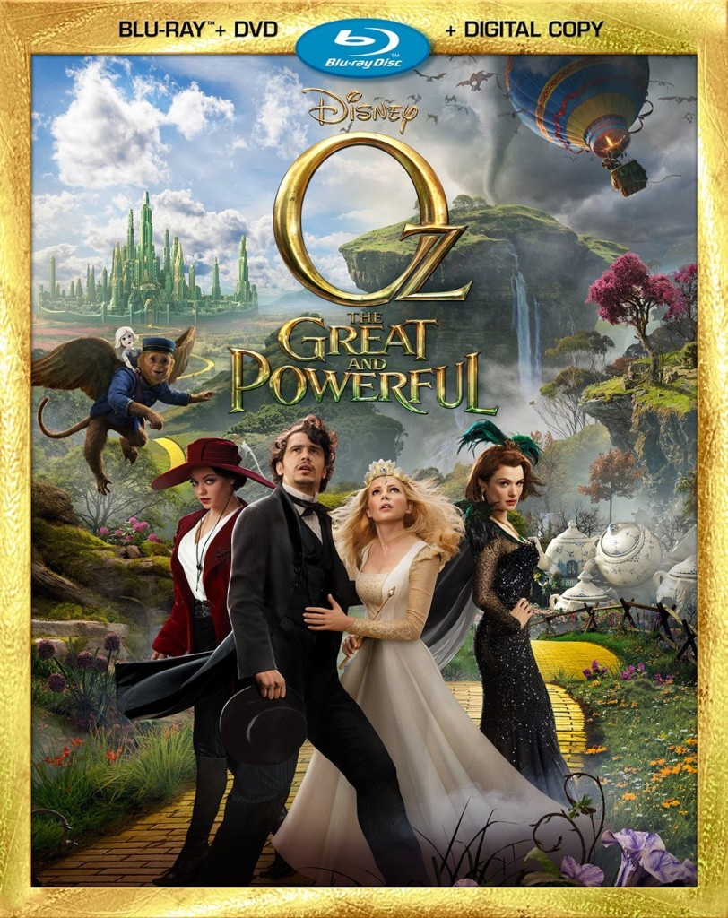 Oz the Great and Powerful Bluray Combo