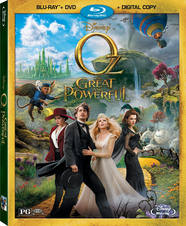 Oz the Great and Powerful Blu-ray Combo