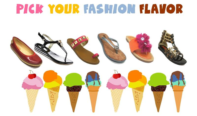pick your fashion flavor