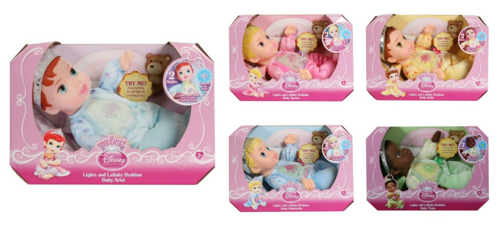My First Disney Princess Lights & Lullaby Doll