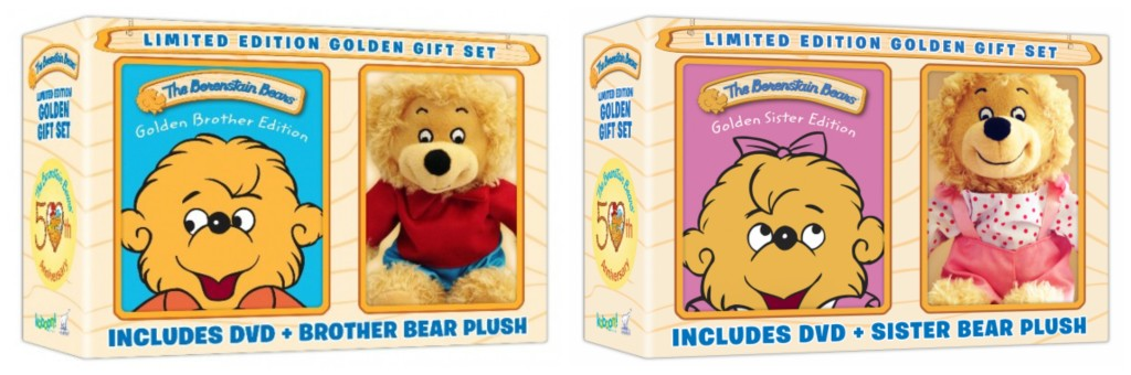 Limited Edition Golden Gift Sets Berenstain Bears