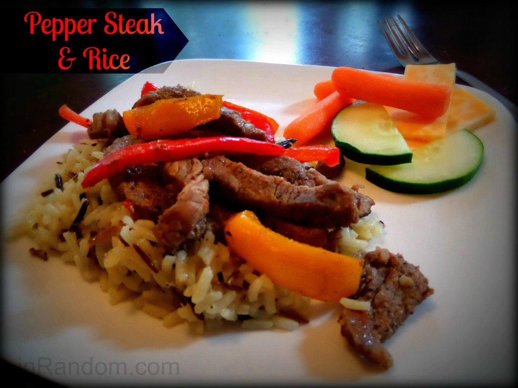 Pepper Steak & Rice Recipe