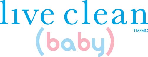 live clean baby logo