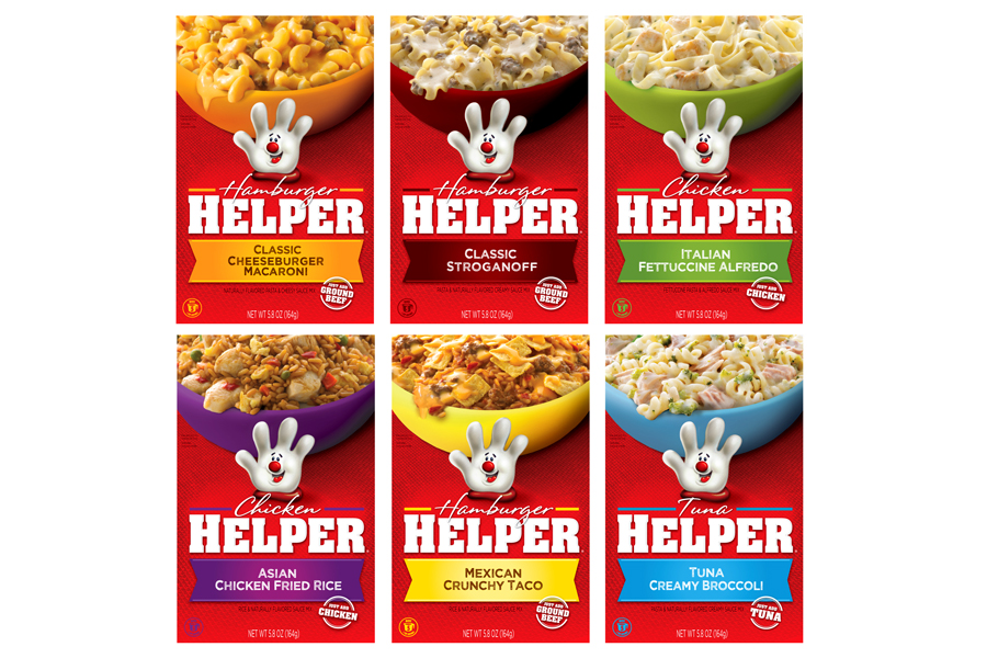 Hamburger Helper design
