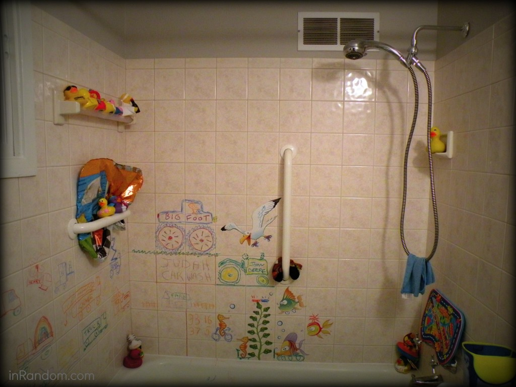 Shower before picture
