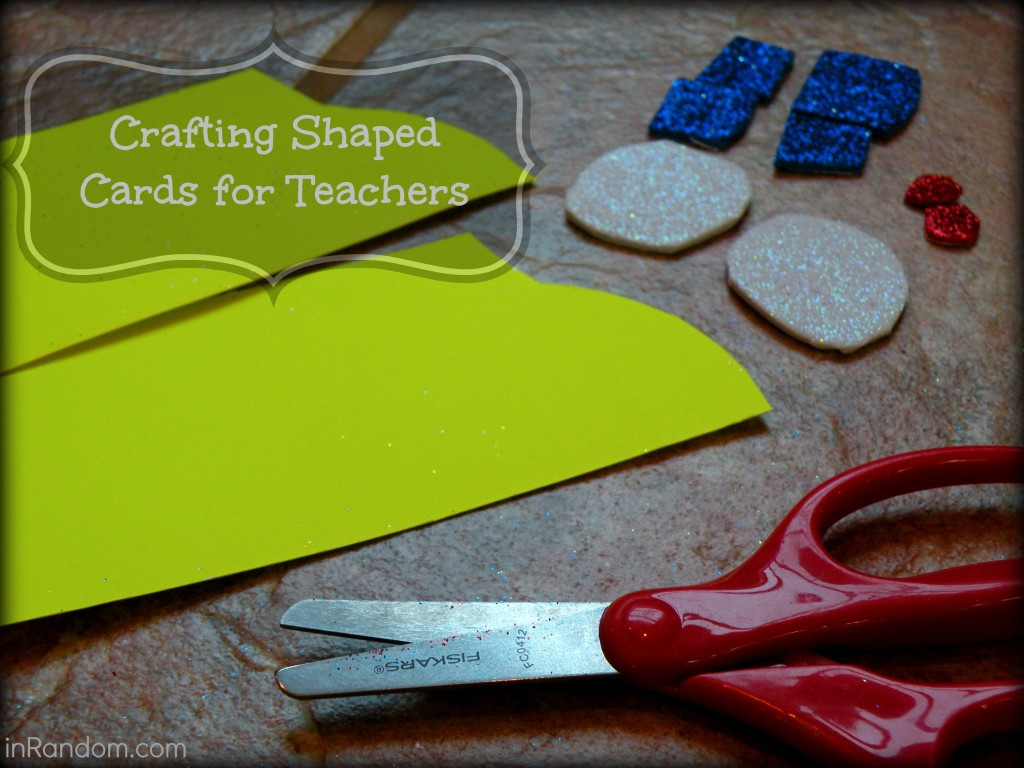 Crafting Shapes Cards for Teachers #shop