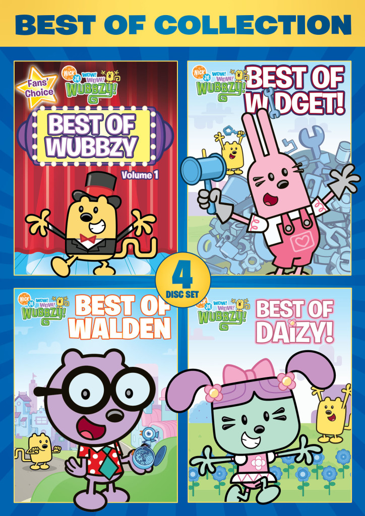 Best Of The Best 2017 By Colorado Community Media: Wow! Wow! Wubbzy!: Best Of Collection 4 Disc DVD Set