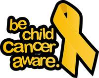 Gold Ribbon for kids