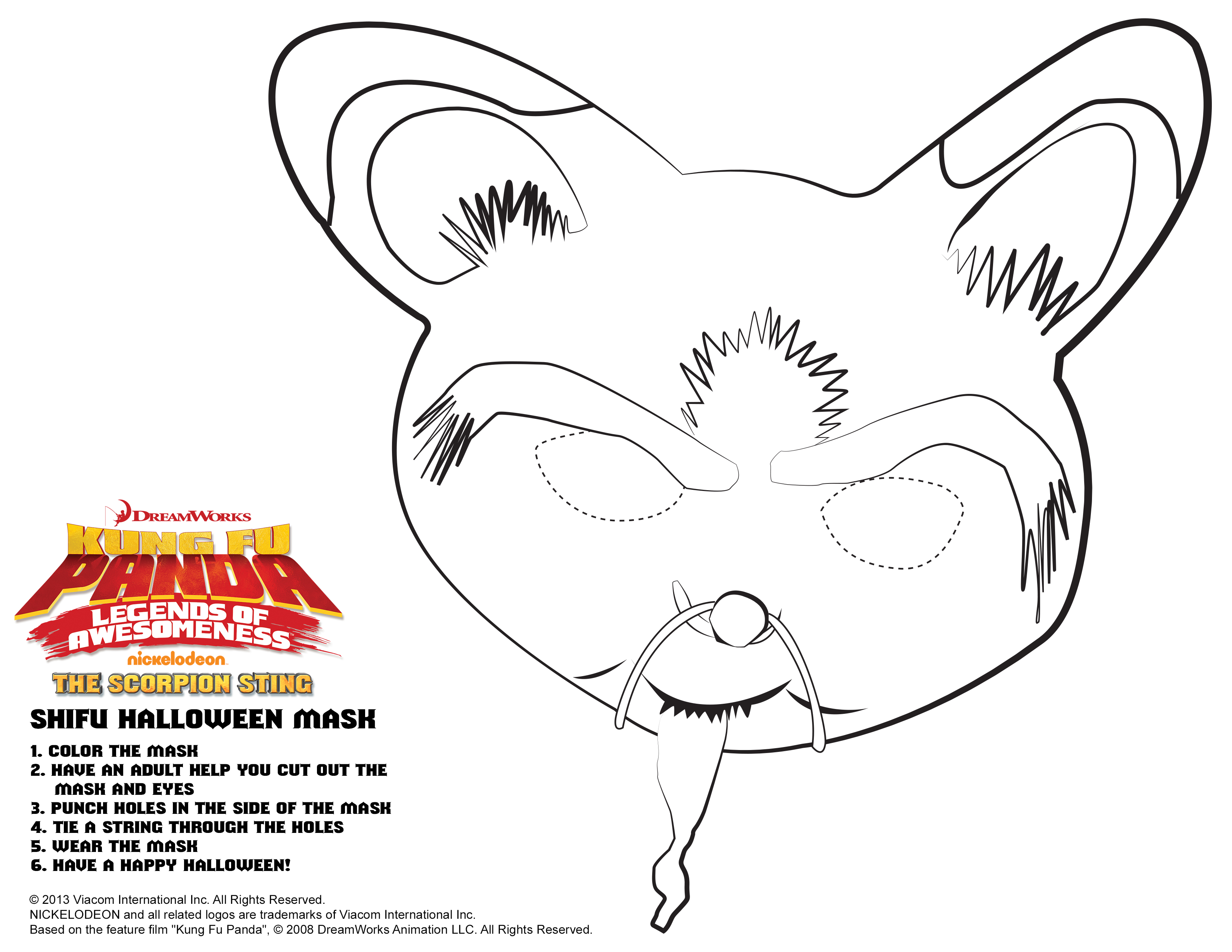 halloween mask coloring pages throughout halloween mask coloring ...