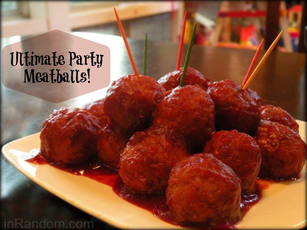 The Ultimate Party Meatballs Recipe & My Super Cute Cook!