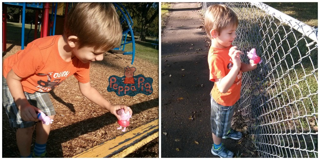 Peppa Pig at the Park