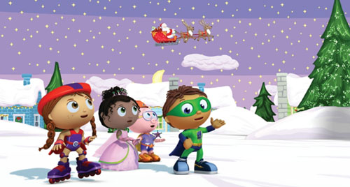 Super Why! 'Twas the Night Before Christmas and other fairytale adventures