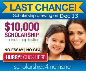 Scholarships 4 Moms Drawing