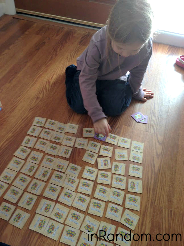 tickety toc matching game