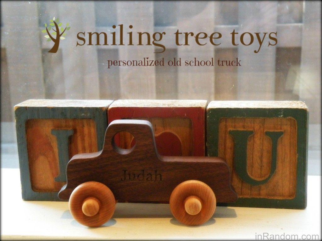 personalized truck Smiling Tree Toys