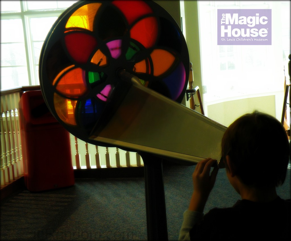Color Wheel at the magic House