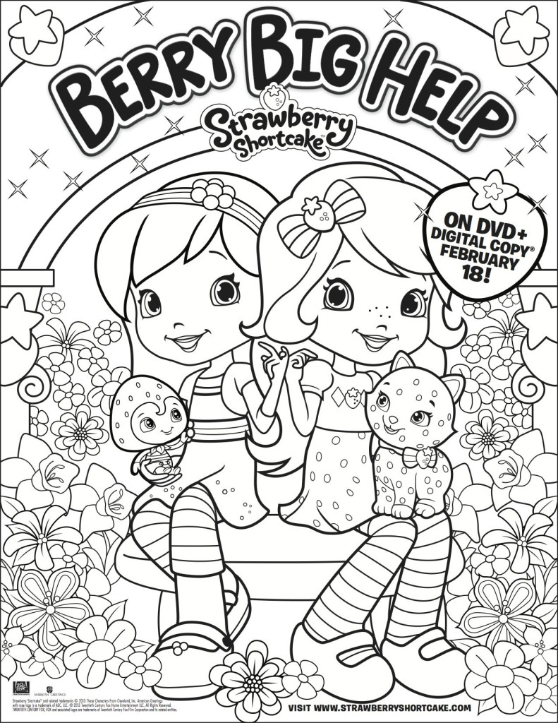 Berry Big Help coloring page