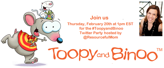 Toopy and Binoo party