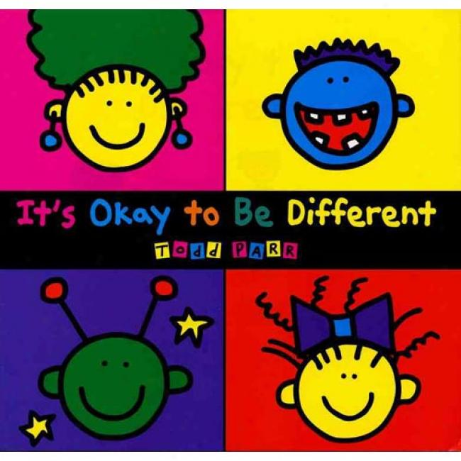 It's Okay to Be Different Todd Parr