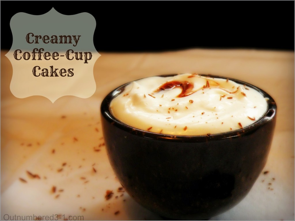Coffee Cup Cakes