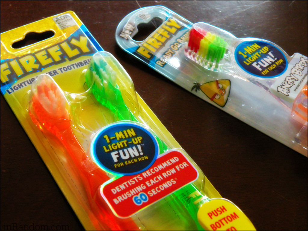 Firefly Toothbrushes for Kids