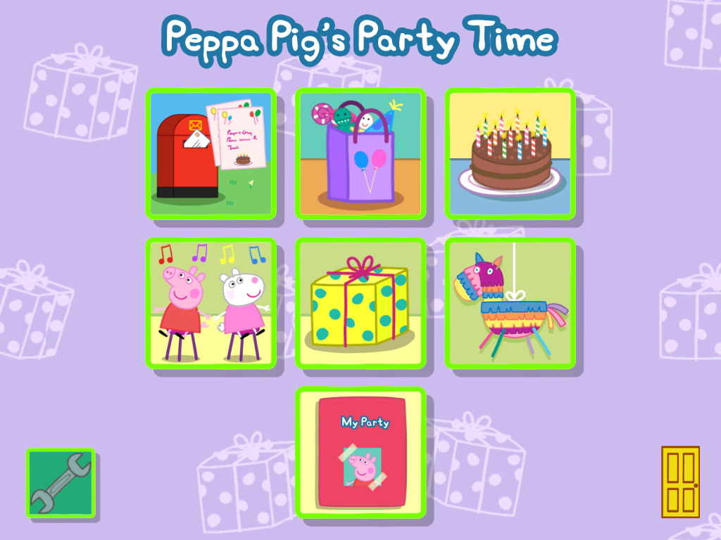 Peppa Pig Party Time App