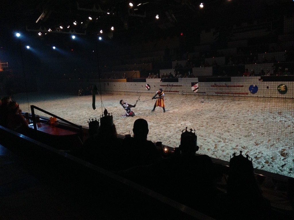 medieval times sword fighting