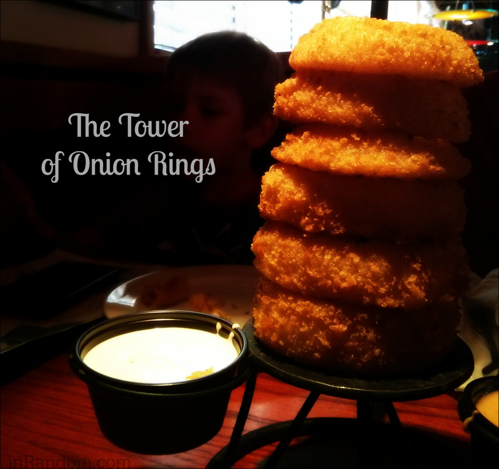 The Tower of Onion Rings