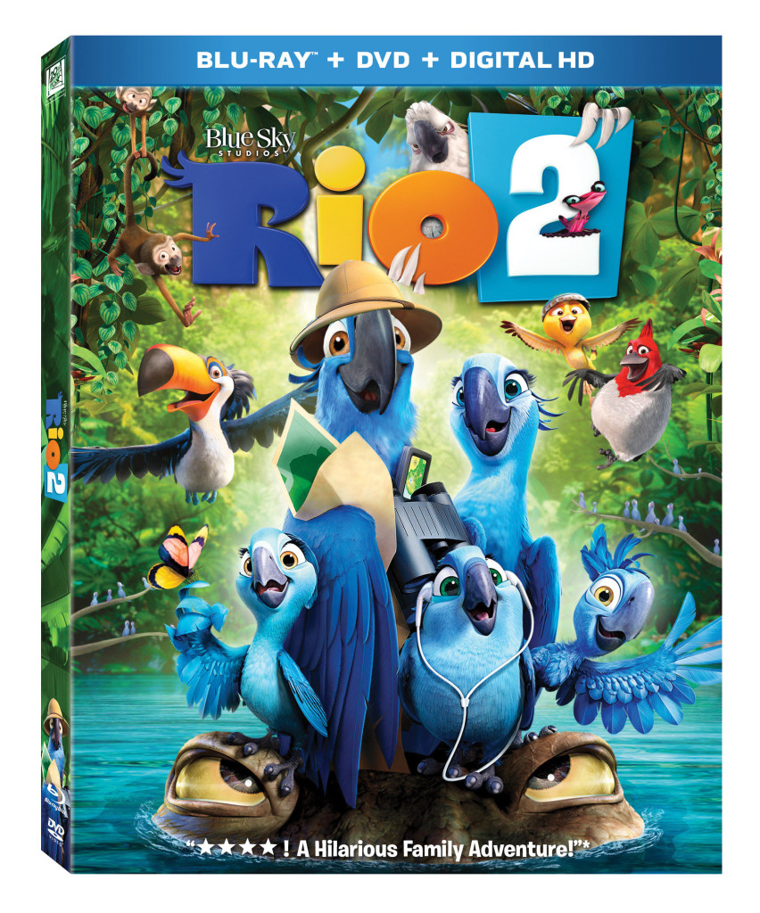 Rio 2 on Blu-ray