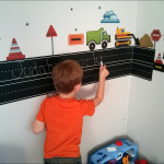The Learn to Write Chalkboard from WallPops!