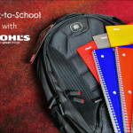 One-Stop-Shop School Shopping at Kohl's + $100 Gift Card Giveaway!