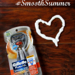 I Love a Kissable Smooth Summer Shave with Gillette