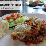 3 Cheese Stuffed Pasta w/ Meat Sauce – Beef, It's What's For Dinner!