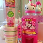 Hello Kitty Firefly Toothbrushes & Mouth Rinse Make Brushing Fun