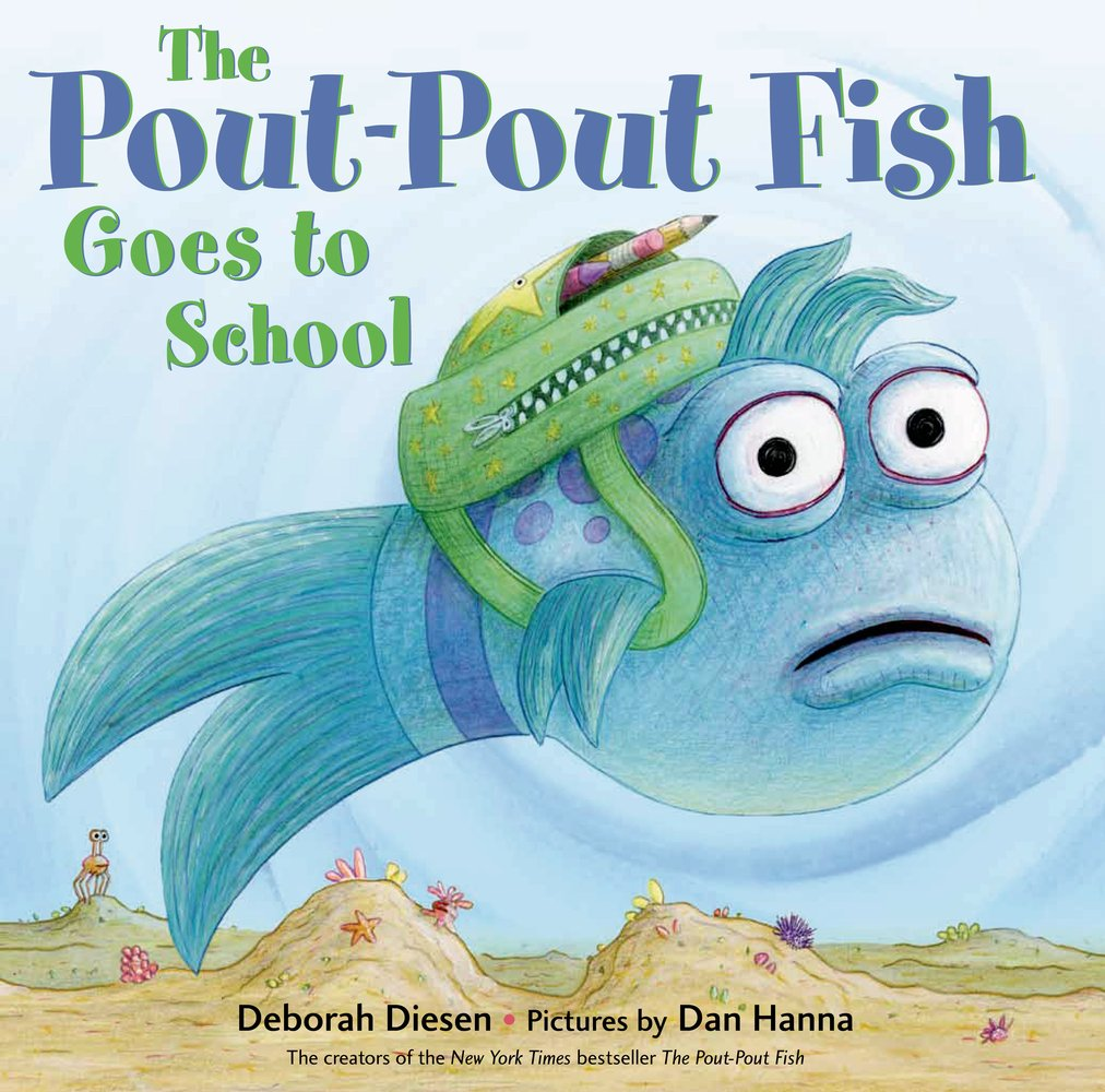Pout Pout Fish Goes to School