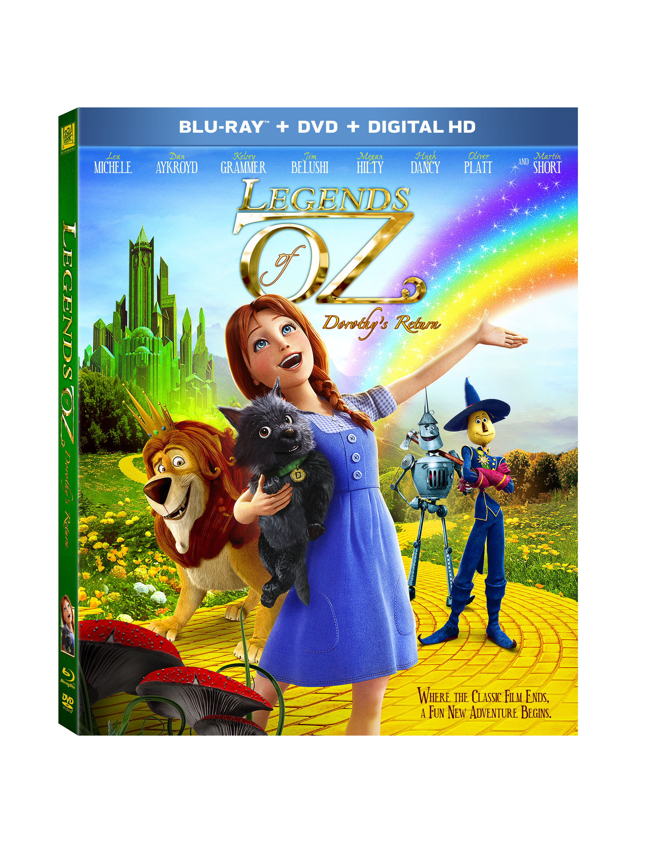New on Blu-ray – Legends of Oz: Dorothy's Return + Printables & Giveaway {US & CAN}