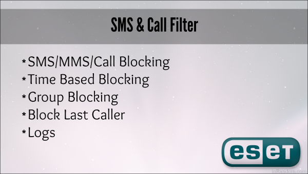 sms-call-filter-eset