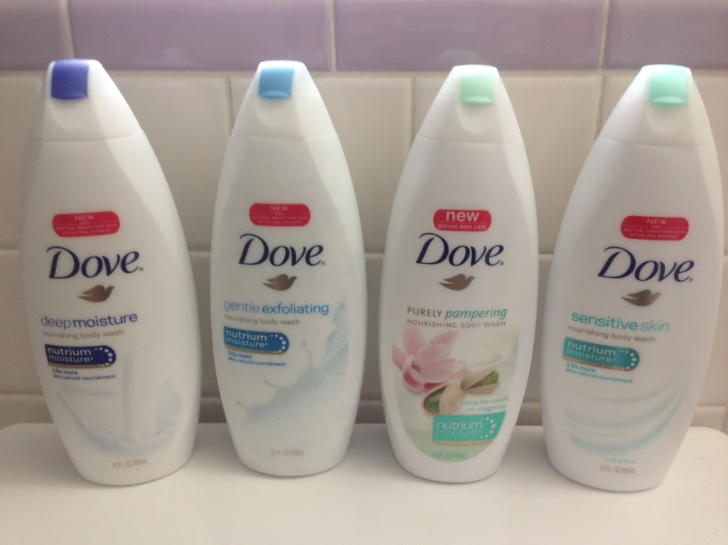 Dove One Shower Challenge