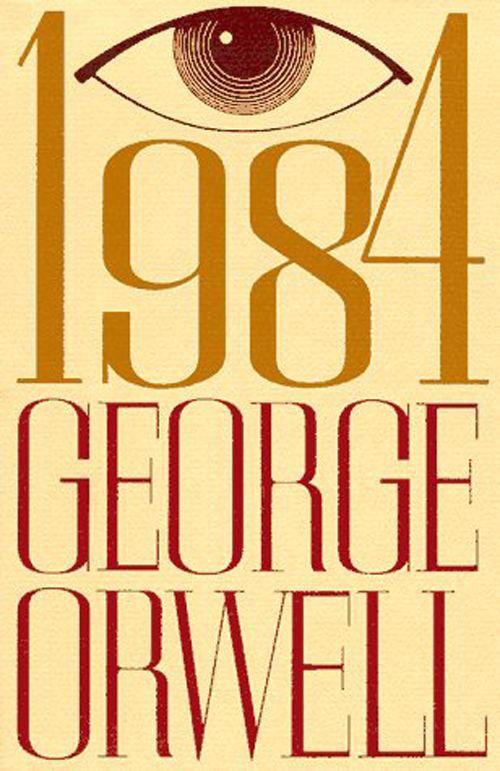 George Orwell's 1984 Book Cover