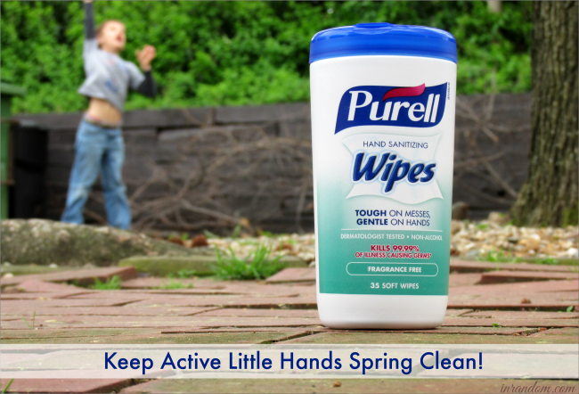 PURELL® Hand Sanitizer Wipes for Spring Cleaning #ad