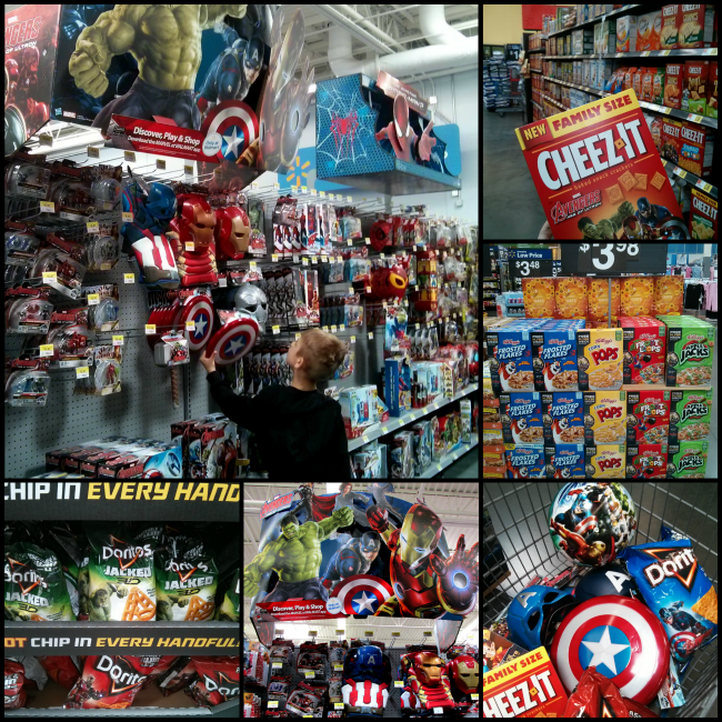 Walmart MARVEL's The Avengers: Age of Ultron Products