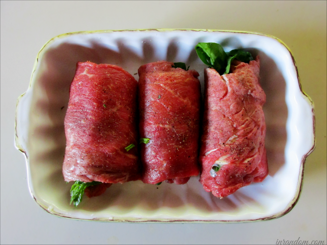 Breakfast Steak Roll-Ups Ready to Cook