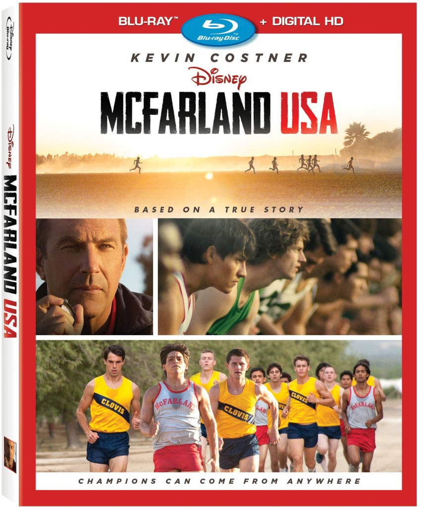 Disney McFarland USA on Blu-ray