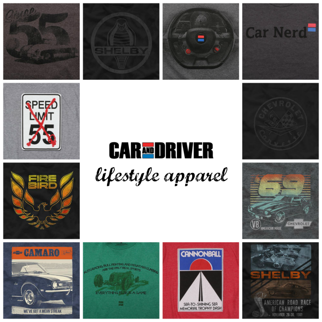 Car and Driver T-shirts