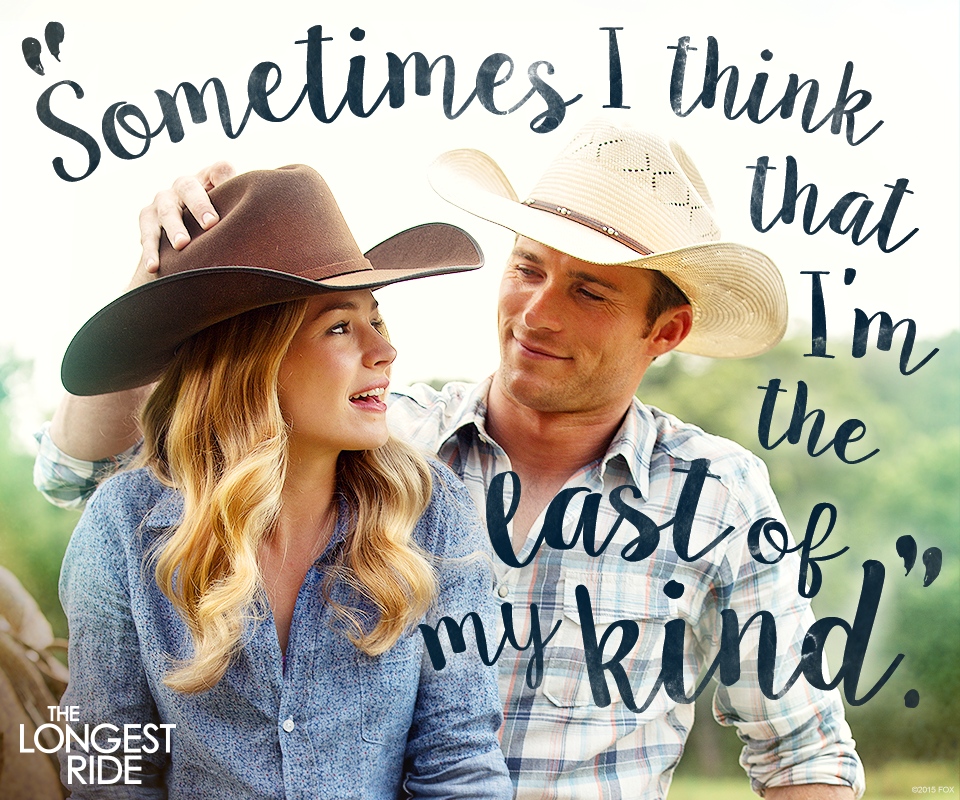 Words from the heart - The Longest Ride
