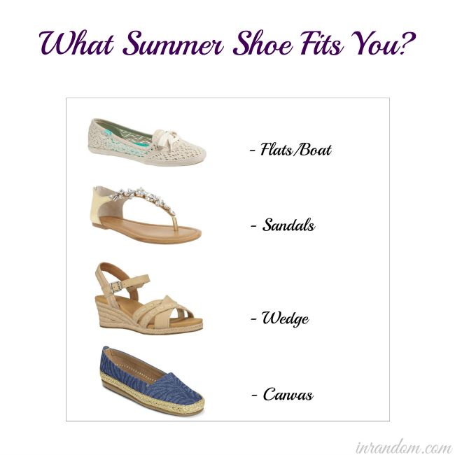 Which Summer Shoe Fits You?