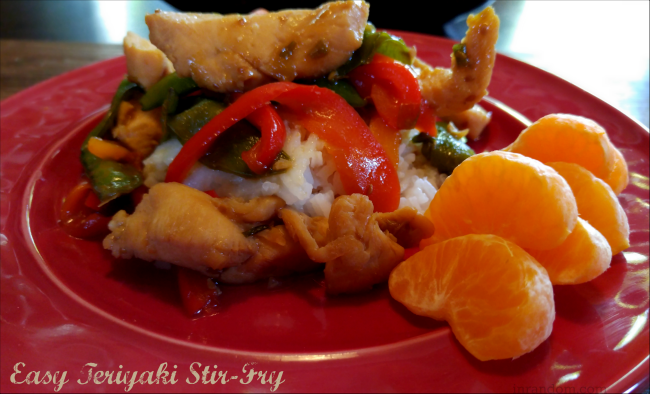 Easy Teriyaki Chicken Stir Fry Recipe