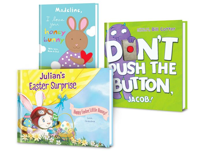 Easter With Personalized Books