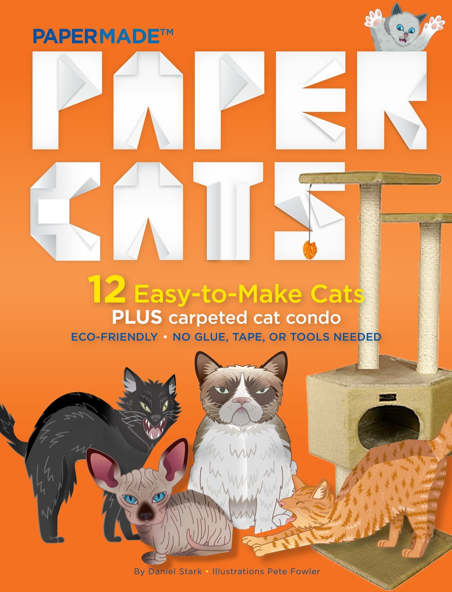 Paper Cats by PaperMade