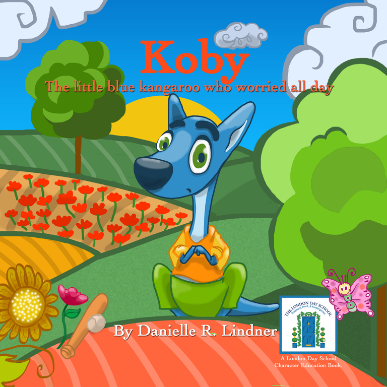 Koby The Little Blue Kangaroo Who Worried All Day